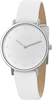 Pierre Cardin Womens Analogue Watch Belleville Tribute with Leather Strap