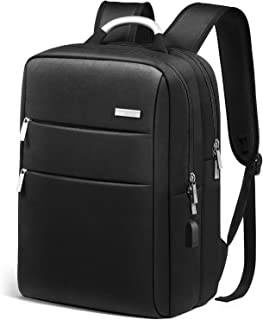 Laptop Backpack, Business Travel Backpack with USB Charging Port for Women Men