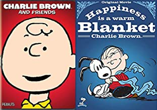 Silly Friends Happy Peanuts Happiness is a Warm Blanket Snoopy + Charlie Brown beloved TV Specials featuring your favorite Peanuts Gang DVD Double Feature 2 Pack Cartoons