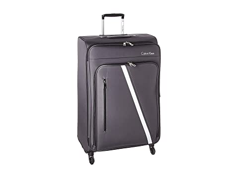 "Ck-511 Crossbronx 28"" Upright Suitcase, Charcoal"