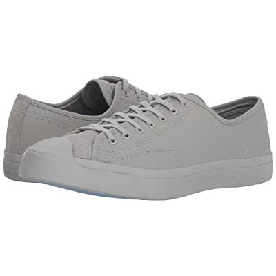 Converse Jack Purcell(r) Premium Leather (Ash Grey/Ash Grey) Shoes