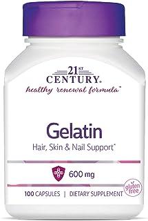 21st Century Gelatin 600mg Beauty Capsules 100 Capsules