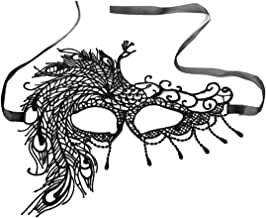 (H) フェニックスブラックレース アイマスク レディース 仮面 仮装 コスチューム ハロウィン 舞踏会 変装 貴族 コスプレ 怪盗 目隠し 女性 コスチューム ボンテージ 人気