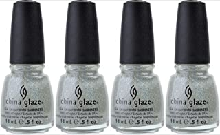 China Glaze Nail Laquer with Hardeners Fairy Dust (Quantity of 4)