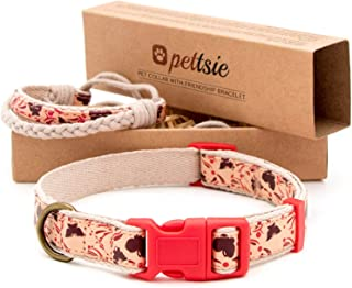 matching collar and bracelet