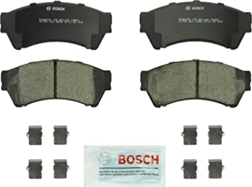 Ceramic Disc Brake Pad Set Front fits Ford Mazda Mercury