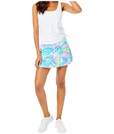 Lilly Pulitzer UPF 50+ Luxletic Meryl Nylon Aila Skort (Multi Fished My Wish) Women