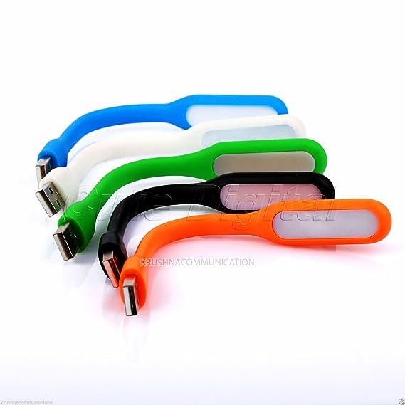 K3 5Pcs Mix Color Flexible USB Led Light Lamp for Computer Laptop Pc Powerbank