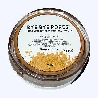It Cosmetics TAN Bye Bye Pores Tinted Skin - Blurring Finishing Powder - 6.8g/ 0.24oz SEALED