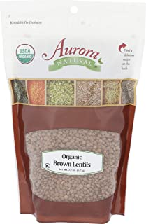 Whole Foods Market Bulk, Lentils Brown Organic, 22 Ounce