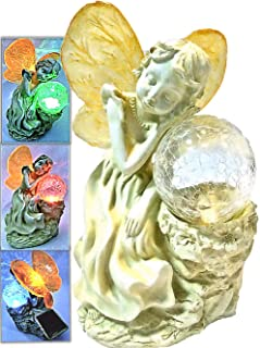 fairy on glass ball