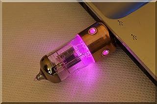 ハンドメイド 64GB USB 3.0 パープル ポートホール ペントモード ラジオチューブ USB フラッシュドライブスチームパンク/インダストリアルスタイル ####### (タグ:スティックサムペン キードライブ ストレージ メモリディス...