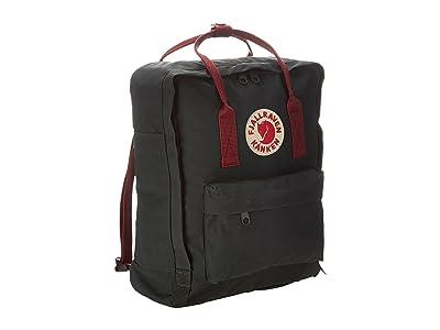 Fjallraven Kanken (Forest Green/Ox Red) Backpack Bags