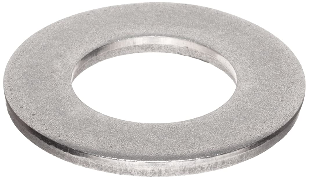 300 Stainless Steel Flat Washer, Plain Finish, Meets MS 15795, 7/8