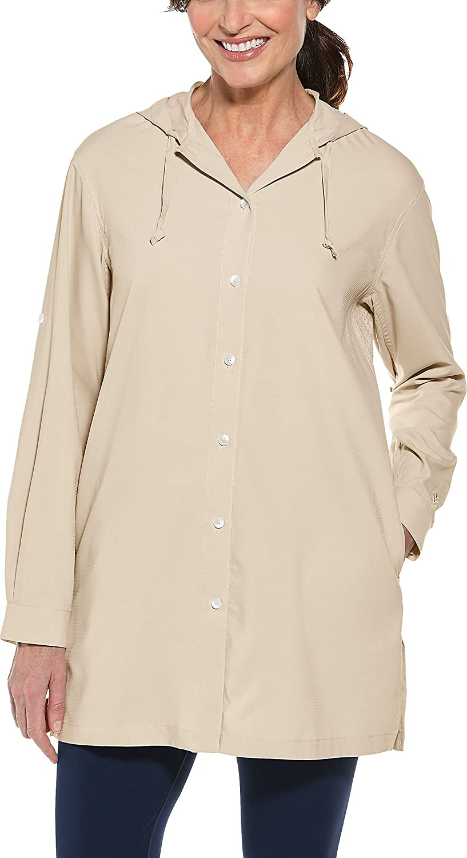 Coolibar UPF 50+ Under blast Sale special price sales Women's Iztapa Shirt Protective Sun Beach -