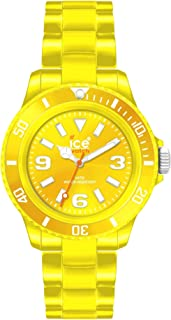 Ice Classic Quartz Movement Yellow Dial Unisex Watch CSYWUP10