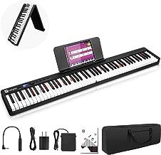 Vangoa Folding Piano Keyboard, Portable 88 Key Full Size Tou