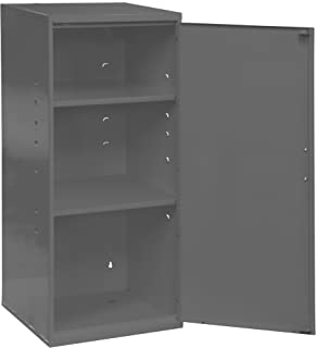 Durham 055-95 Gray Cold Rolled Steel Utility Cabinet, 13-3/4