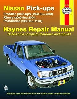 Nissan Frontier Pickup 98-04, Pathfinder 96-04 & Xterra 00-04 (Haynes Repair Manuals)