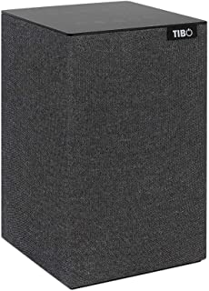 TIBO Choros 4 |Wi-Fi & Bluetooth Speaker | Multi Room Hi-Fi Speaker with Internet Radio | Grey