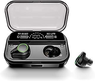 2020 Newest Dual Digital Display Bluetooth 5.0 Earbuds 3500mAh Charging Case 150H Playtime IPX7 Waterproof 9D Surround Ste...