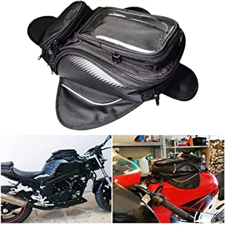 TOOGOO 1680D Nylon Waterproof Waterproof Motorcycle Magnetic Fuel Tank Bag Gasbag Phone Holder Fit for