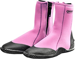 Cressi Isla Boots - Calzari per Immersione con Suola Gomma, Neoprene Colori e Spessori Vari, Unisex Adulto
