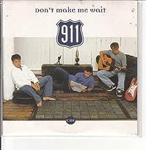 Don't Make Me Wait CD UK Virgin 1996