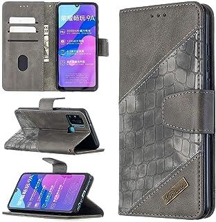 LENASH För Huawei ära 9a matchande färg horisontellt flip PU läderväska med hållare & kortplatser och plånbok. Fallskydd (...