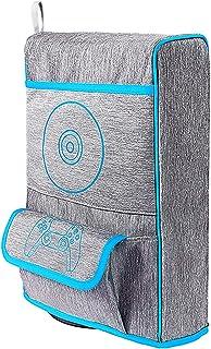LICHIFIT Multifuncional Nylon Bolsa de Almacenamiento Bolsa de Transporte para PS5 Funda Protectora de Polvo Cubierta para...