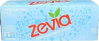 Zevia, Soda Cola Caffeine Free, 12 Fl Oz, 10 Pack