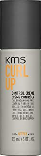 KMS CURLUP Control Creme Curl Bundling & Frizz Control, Glossy, Bouncy, Radiant & Smooth, 5 oz