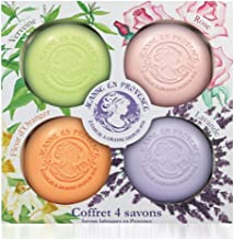 JEANNE EN PROVENCE solid soap, 4 in 1 set (verveine, rose, orange , lavender) make in france 1978, WHITENING & SMOOTH SOAP