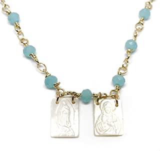 mother of pearl scapular