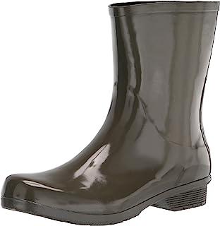 حذاء المطر للنساء من متجر Chooka لامع مقاوم للماء