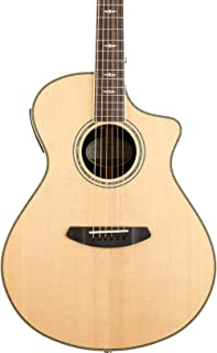Breedlove Stage Exotic Concert CE Sitka Spruce - Ziricote Acoustic-Electric Guitar Gloss Natural