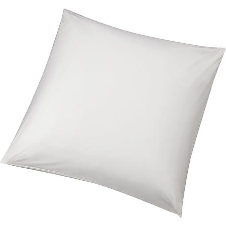 Amazon Basics Pillowcases, Blanc, 65 x 65 cm