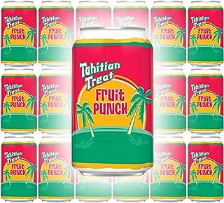 Tahitian Treat, Fruit Punch Soda, 12 Fl Oz Can (Pack of 18, Total of 216 Fl Oz)