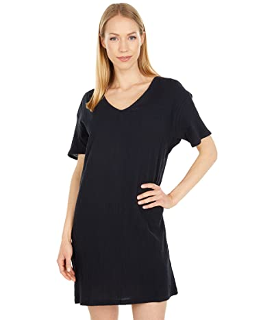 PACT Organic Cotton Crinkle Boxy Tee Dress