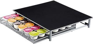 Jardin Mile® Dolce Gusto Café Pod support, 36capsules pour tiroir de rangement empilables, cadre en acier inoxydable avec ...