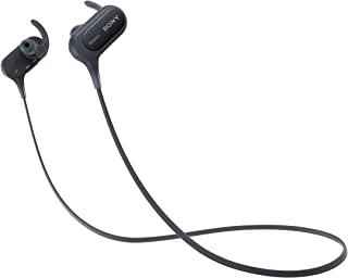 Sony Extra Bass Bluetooth Headphones, Best Wireless Sports Earbuds with Mic/Microphone, IPX4 Splashproof Stereo Comfort Gy...