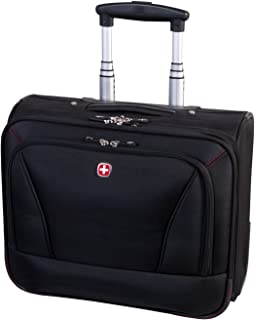 Swiss Gear International Carry-On Size Wheeled Business Case - Holds Up to  15.6- 63b6c121ed8f1
