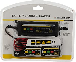 Dunlop battery charger car motorbike car battery charger 6 12 nbsp V Trainer