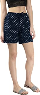 IndiWeaves Women's Cotton Printed Hot Shorts