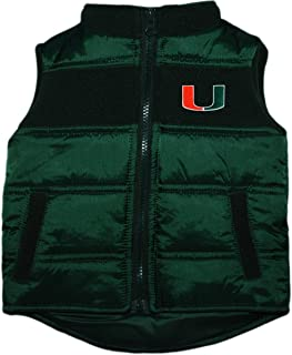 University of Miami Hurricanes Baby and Toddler Puffy Vest