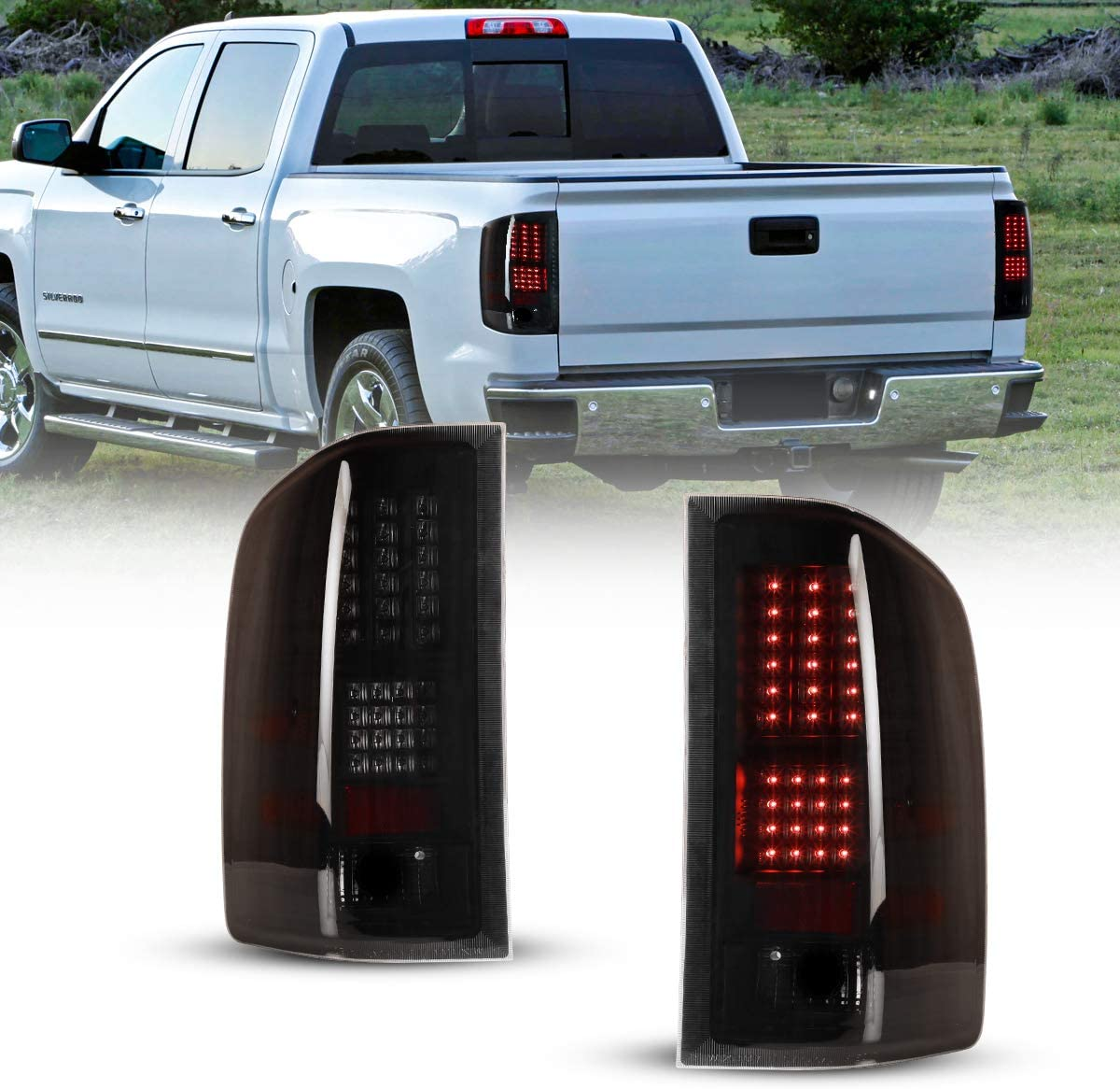 LED Tail Light Assembly for 08-14 Silverado1500 Chevy Year-end annual account Ch Ranking TOP16 08-13