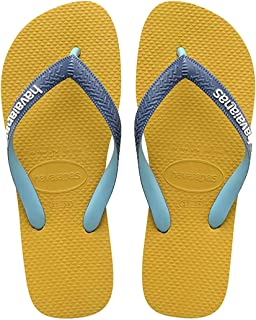Havaianas Top Mix, Chanclas Unisex Adulto, Multicolor (Mustard), 33/34 EU