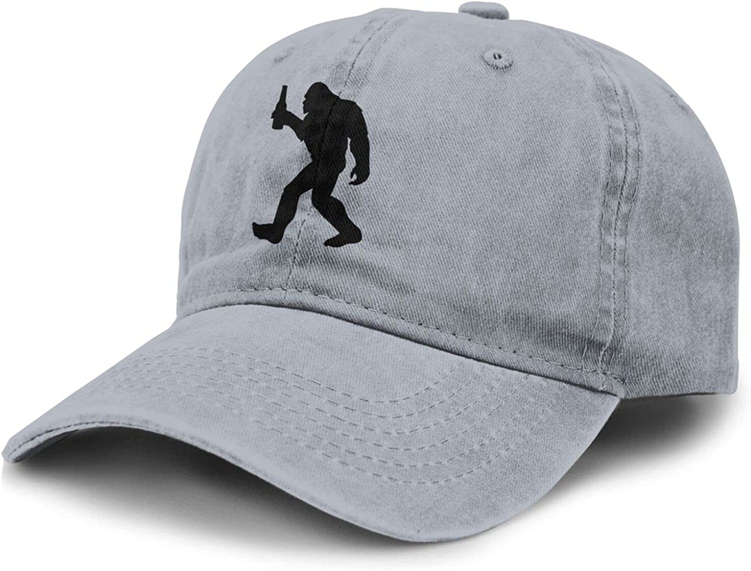 PARKNOTES Bigfoot and A Beer Cheap and Durable Adult Cowboy Hat Unisex