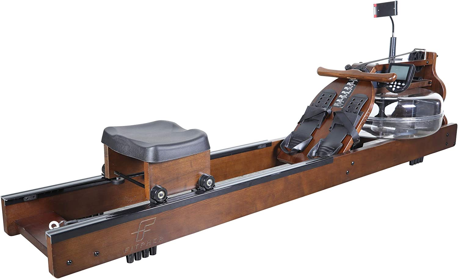 FITPHER Water OFFicial store Resistance Rowing Indoor Dual-Track 40% OFF Cheap Sale Fitne Machine