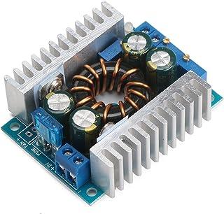 Regulador de voltaje Boost DROK módulo convertidor DC 10 – 32 V 12 V 24 V a DC 10 – 46 V 36 V 150 W CC 8 A corriente constante fuente de alimentación con tablero transformador de voltios
